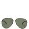 Aviator-frame metal sunglasses