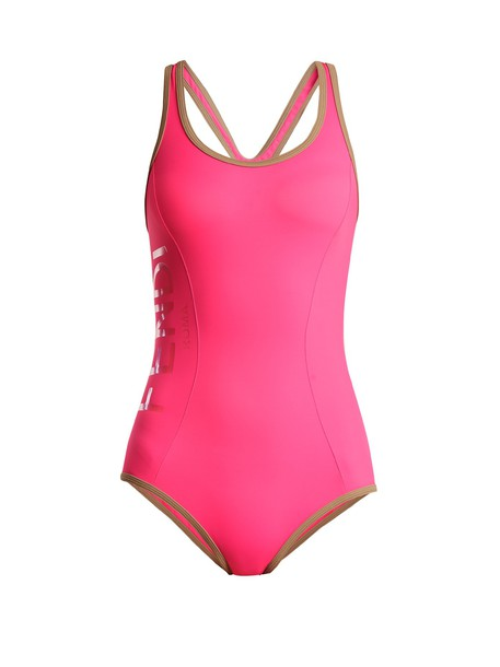 Fendi back pink swimwear