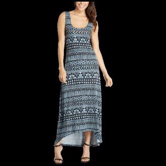 dress aztec long maxi dress