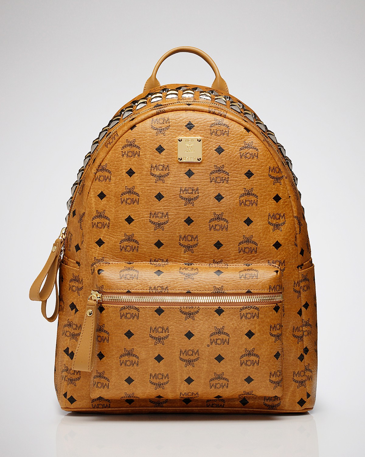 MCM Backpack - Stark Large Crown Stud | Bloomingdale's