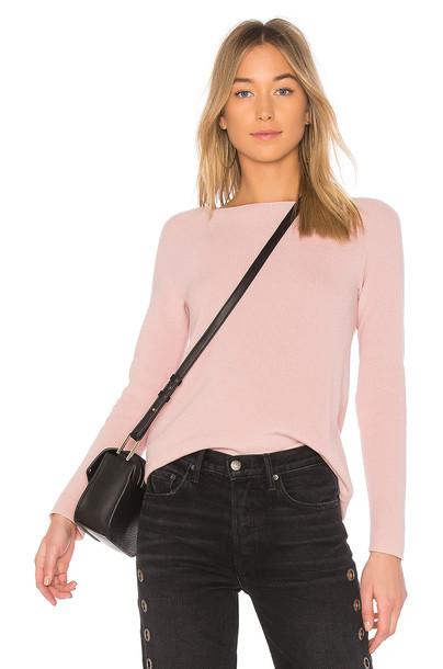 525 america sweater long pink