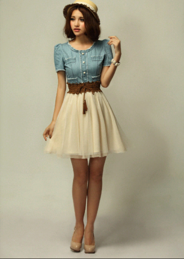 skirt girly cute vintage white skirt