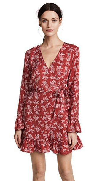 tHE FIFTH LABEL dress wrap dress rose