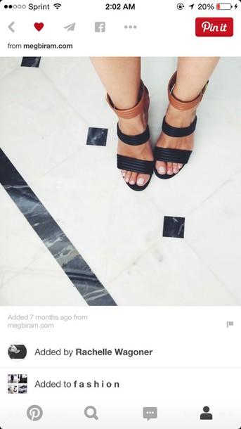 shoes black heels brown heels peep toe black brown heels