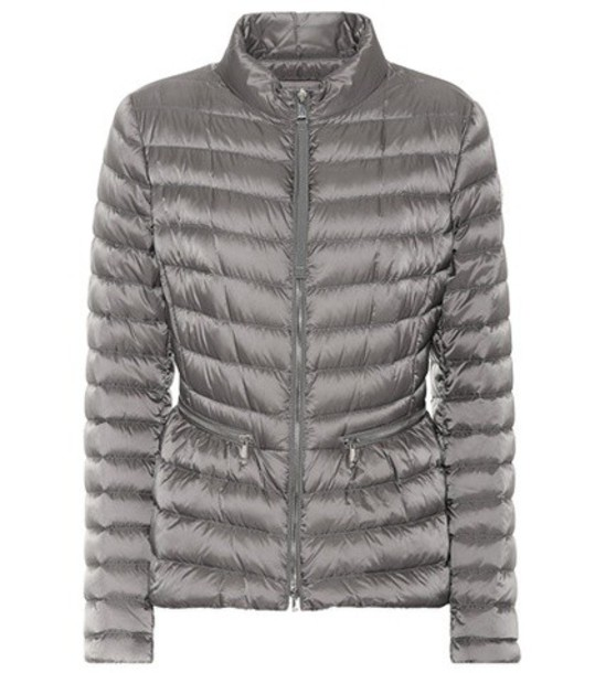 Moncler Agate down jacket in grey