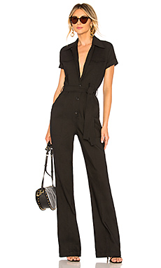 A.L.C. Everett Jumpsuit in Black from Revolve.com