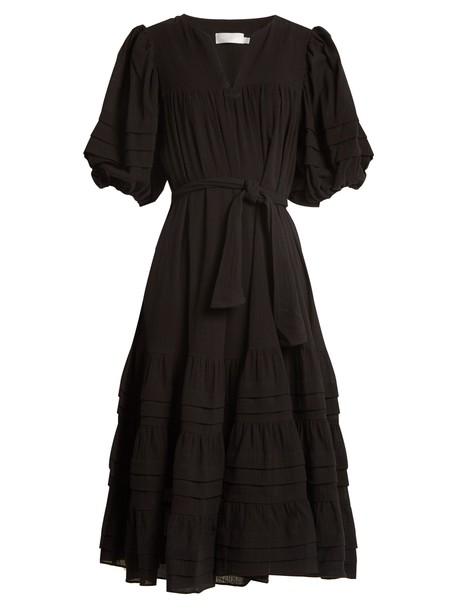 Zimmermann dress cotton black
