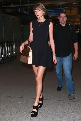 shoes dress sandals taylor swift black dress unomatch unomatch barnd unomatch dresses shop style: uwd084