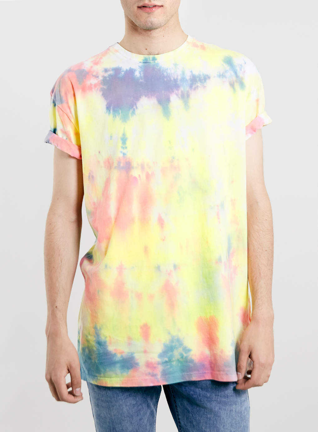 MULTI RAINBOW TIE DYE T-SHIRT