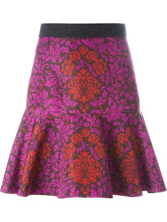 skirt purple pink