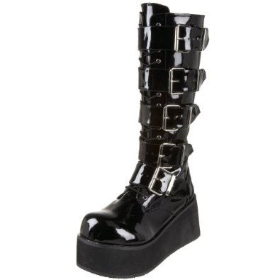 Amazon.com: Demonia by Pleaser Men's Trashville-518 Goth Boot: Shoes