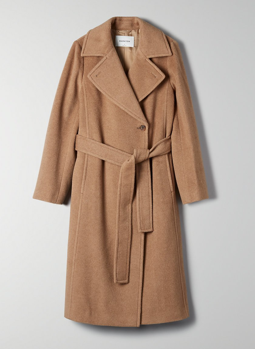 Babaton Belmonte Camel Coat