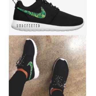 Weed Nike Roshe Run Custom