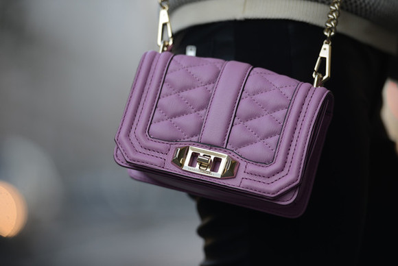 purple bag carolina krews blogger