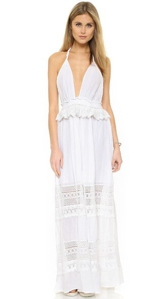 dress love braided white