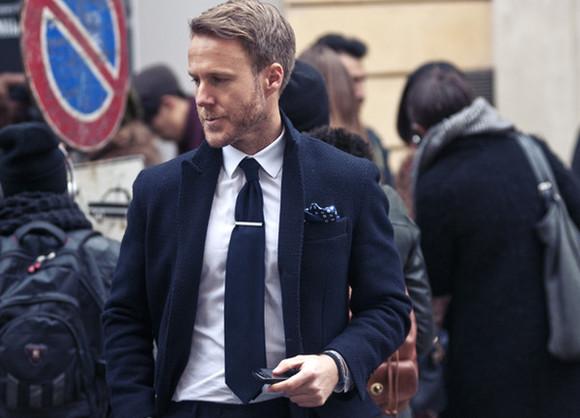 classy milan week 2013 navy bue menswear mens suit