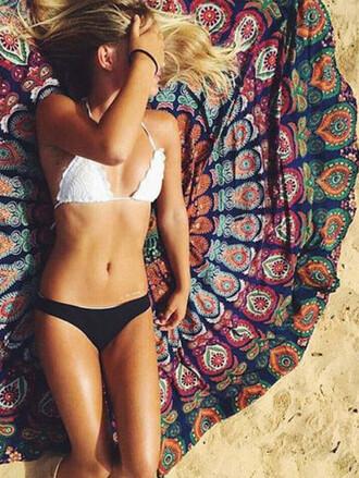 scarf mynystyle beach summer crochet black trendy sexy fashion girly