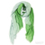 Tilo Gradation Scarf in Green / TheFashionMRKT