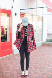 lemon stripes,blogger,hat,top,sweater,leggings,cap,cape,ballet flats