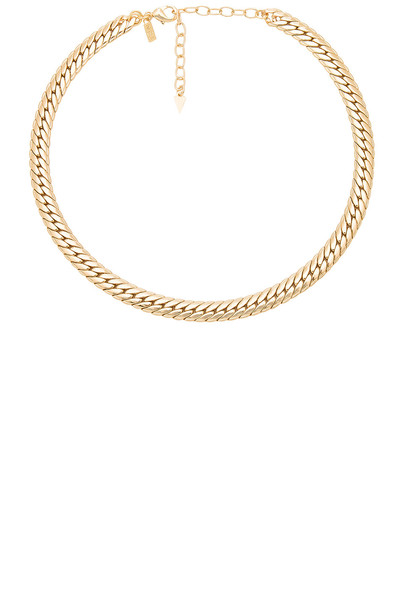Natalie B Jewelry necklace metallic gold jewels