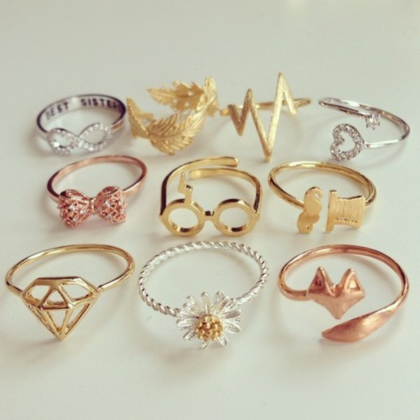Cute Rings For Teens