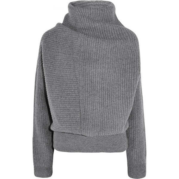 Studios Jacy oversized ribbed wool turtleneck sweater
