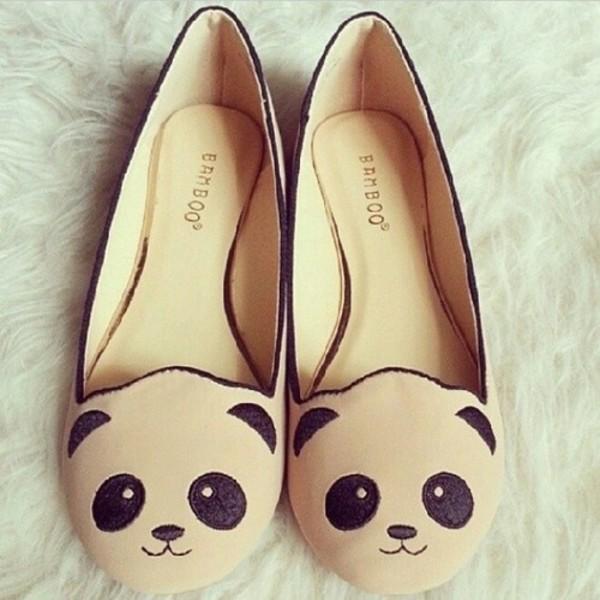shoes panda panda shoes flats