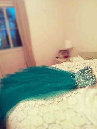 dress teal dress jade dress sparkly dress long teal dress prom dress