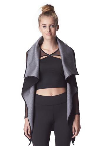 jacket black grey michi bikiniluxe