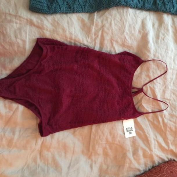 underwear sexy body red bodysuit burgundy