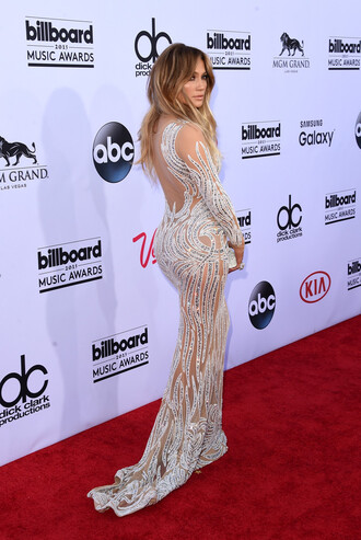 dress gown billboard music awards prom dress sparkly wedding dress jennifer lopez