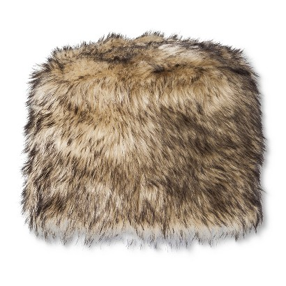 Women's limited edition fleece lined fur skull cap hat