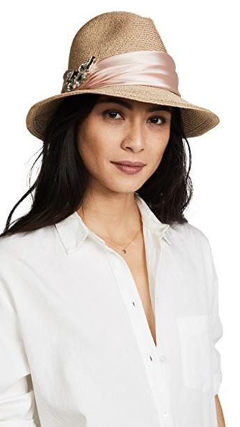 Eugenia Kim fedora blush hat