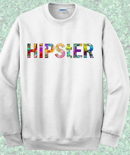 Hipster Crewneck Sweatshirt – Mpcteehouse.com