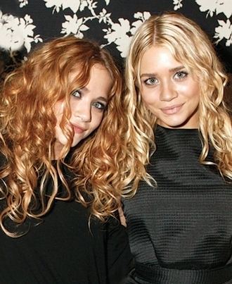 blogger olsen sisters ashley olsen mary kate olsen little black dress