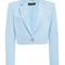 Cropped silk jacket | moda operandi