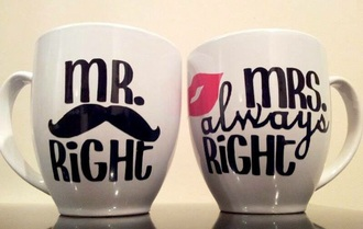 bag mr. mrs. mr. & mrs. furs mug love is in the air