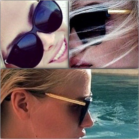 gold black sunglasses black sunglasses alena shishkova