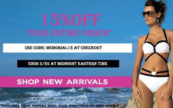 Bikini coupon code
