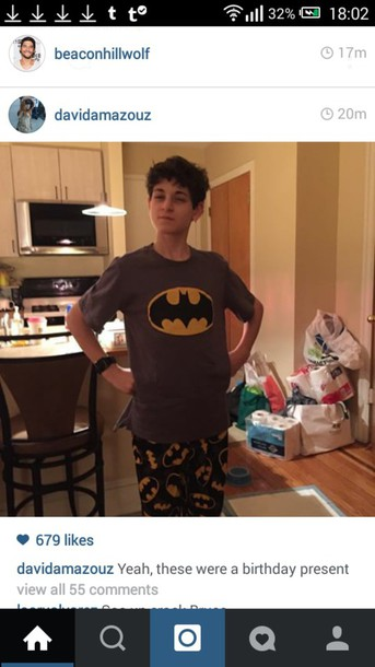pajamas batman
