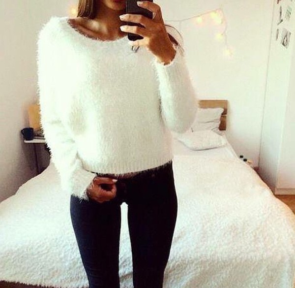 Free shipping and returns on Women's White Sweaters at hitmixeoo.gq