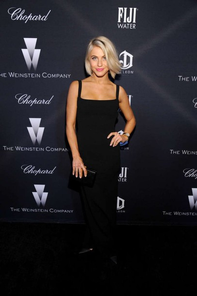 dress black maxi dress julianne hough