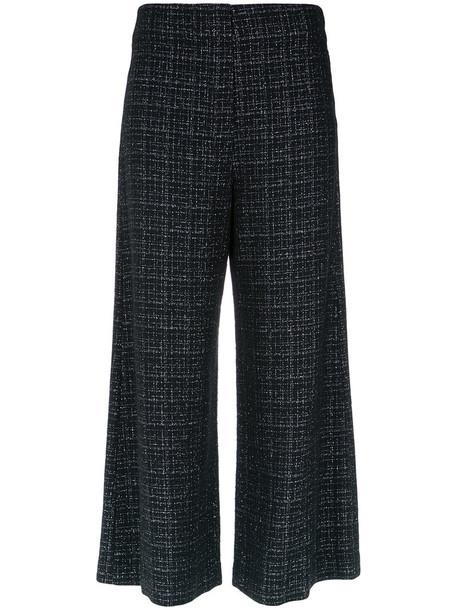 Nk cropped women cotton black pants