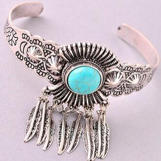 jewels jewel cult jewelry bracelets cuff bracelet silver silver jewelry turquoise boho boho chic boho jewelry bohemian