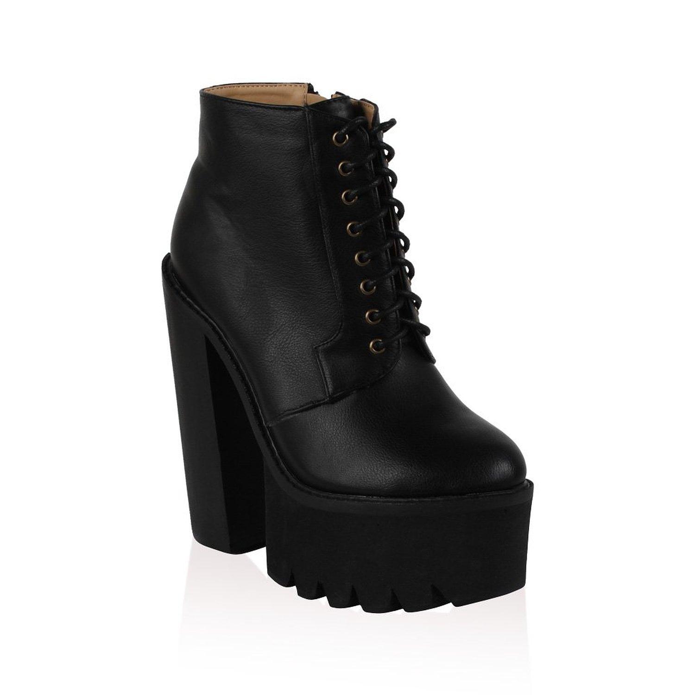 Chunky Block Heel Boots