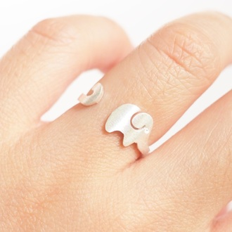 jewels summer summer handcraft elephant elephant ring knuckle ring ring armor ring engagement ring silver ring gift ideas lovely gift girlfirend gift wwe gifts birthday gift best gifts