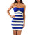 Lilly Navy and White Stripe Dress | Emprada