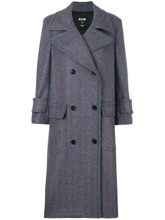 coat double breasted women wool grey