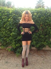 dress,cage,strappy,cage dress,off the shoulder,mini dress,fashion,black dress,2013,straps,shoes