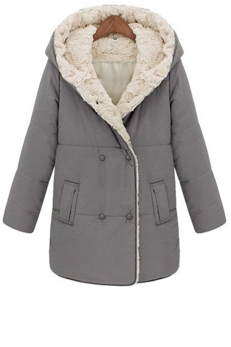 2013 Autumn & Winter New Section Thickening Warm Hooded Overcoat,Cheap in Wendybox.com